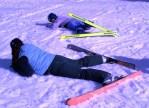 Jennifer at the Ski School