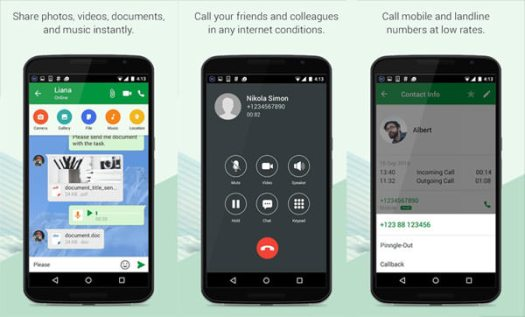 Make Free Calls to the UAE Using a Messaging App Like Pinngle