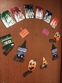 Resident Assistant: Halloween Door Decorations  Just Keep