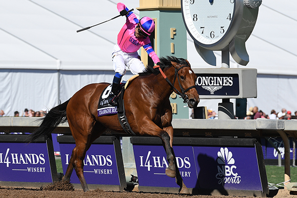 CHAMPAGNE ROOM Wins Breeders' Cup Juvenile Fillies-G1