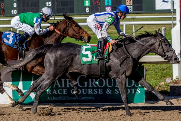 2YO MISSIVE Prevails in Fair Grounds Maiden Special