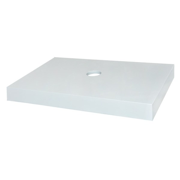 Bango per lavaman materiali MDF e bardhe 50x80xH8 cm 220350 1