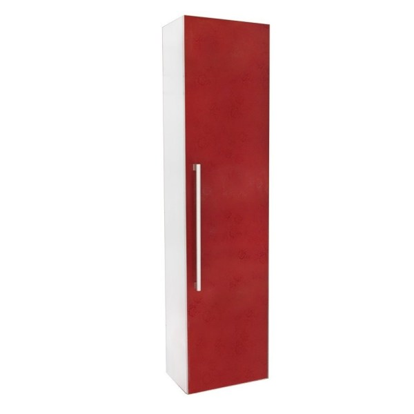 Dollap tualeti panel druri 30x20xH120cm kuq 23524 1 2