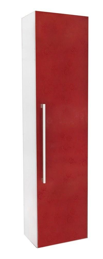 Dollap tualeti panel druri 30x20xH120cm kuq 23524 1