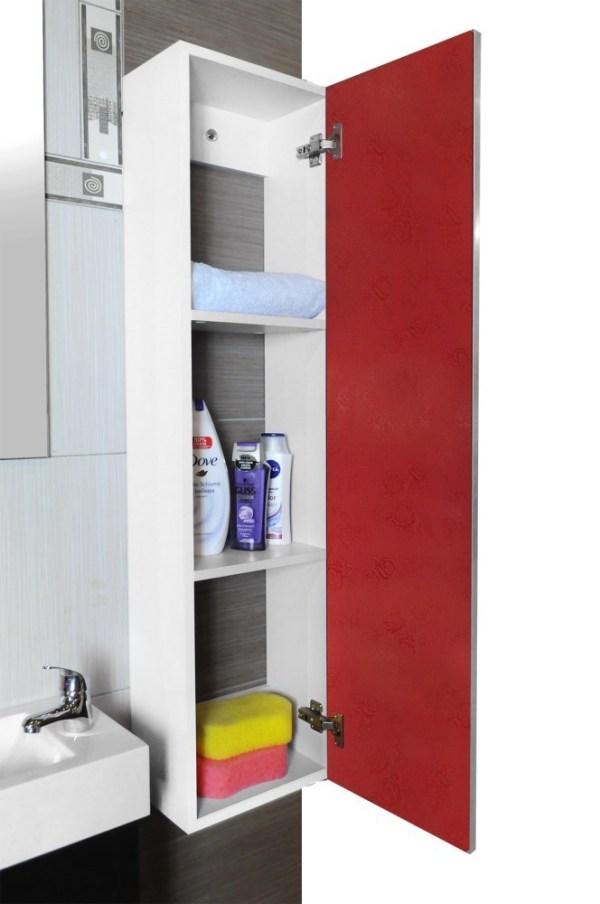 Dollap tualeti panel druri 30x20xH120cm kuq 23524 2