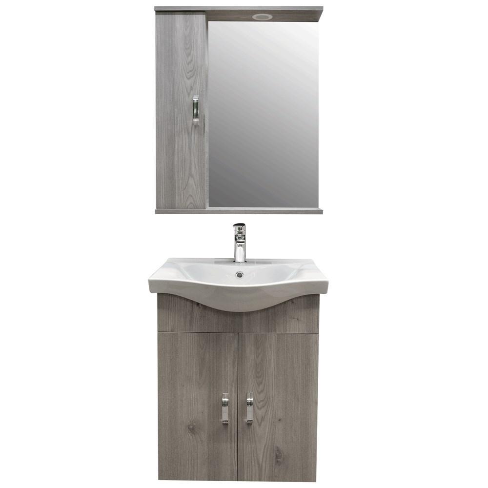 Mobilje tualeti ALBA 65 DROP melamine kafe 222175 3