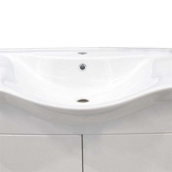 Mobilje tualeti ALBA 80 DROP melamine e bardhe 224357 4