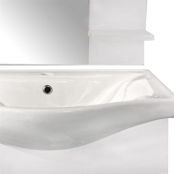 Mobilje tualeti ESTELA 65 MDF e bardhe 224486 3