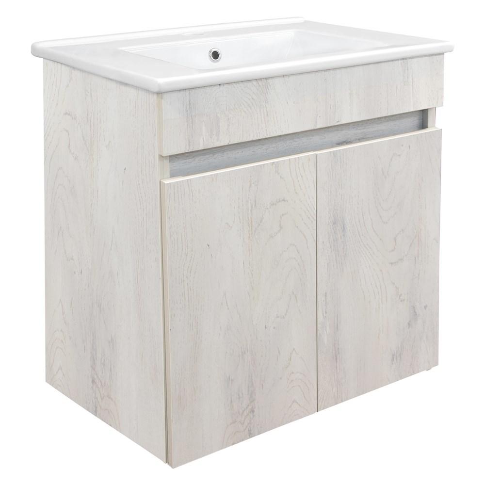 Mobilje tualeti OMEGA 60 Melamine e bardhe 224491 2