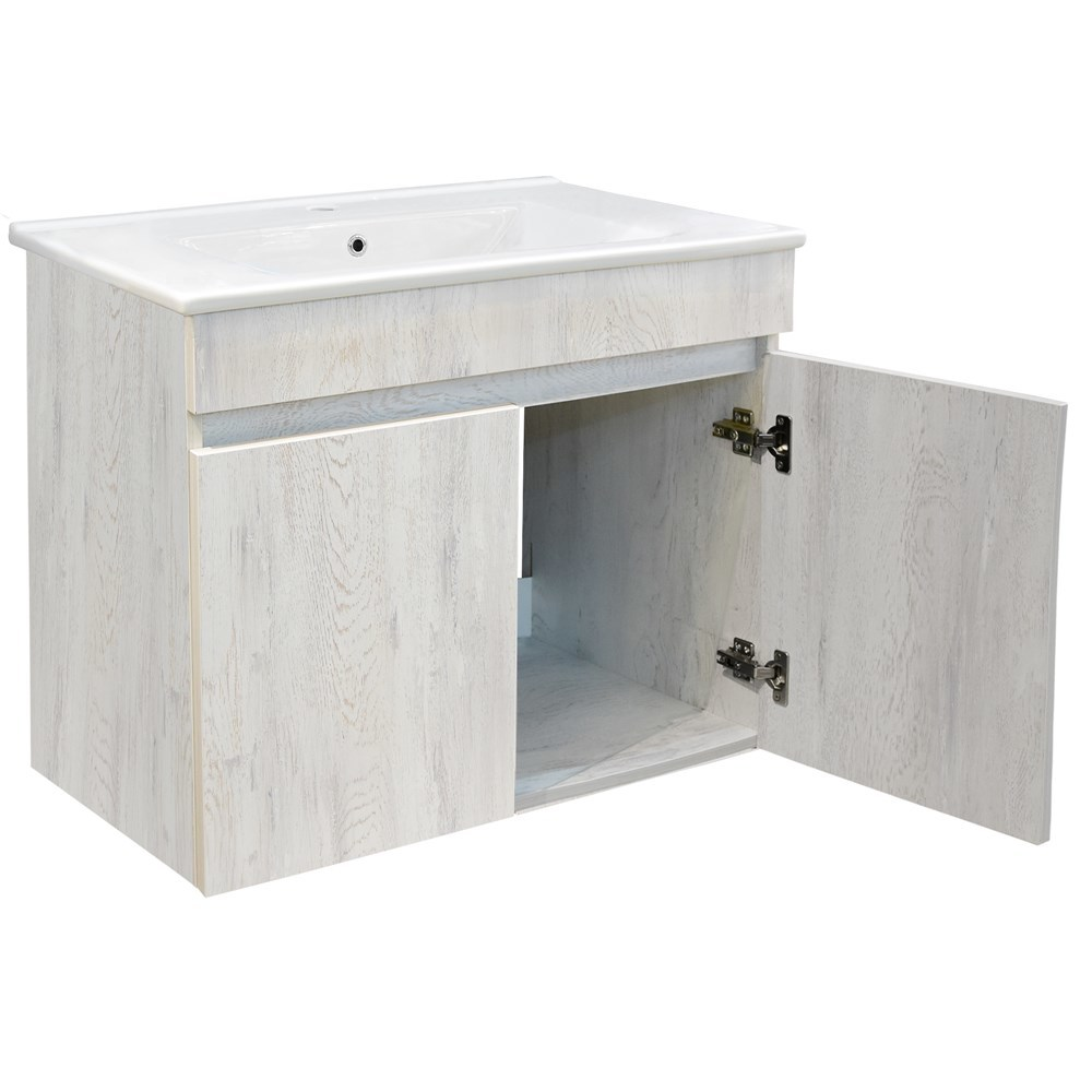 Mobilje tualeti OMEGA 80 Melamine e bardhe 224492 4