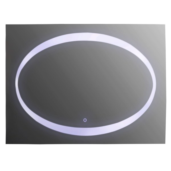 Pasqyre me LED 80X60 cm ndezjafikja me prekje 220813 2
