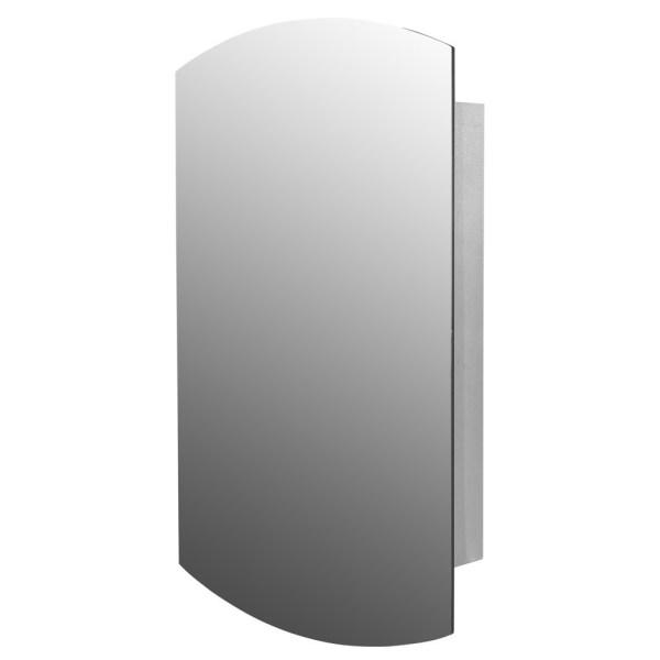 Pasqyre me rafte dhe skelet inoksi katrore 45x10.5xH65cm. 23180 1