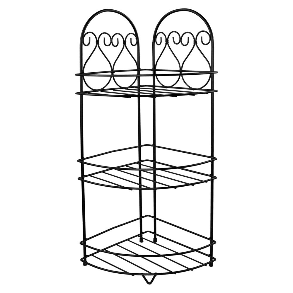 Raft tualeti kendore me 3 rafte 24x24xH65 cm e zeze 220785 2