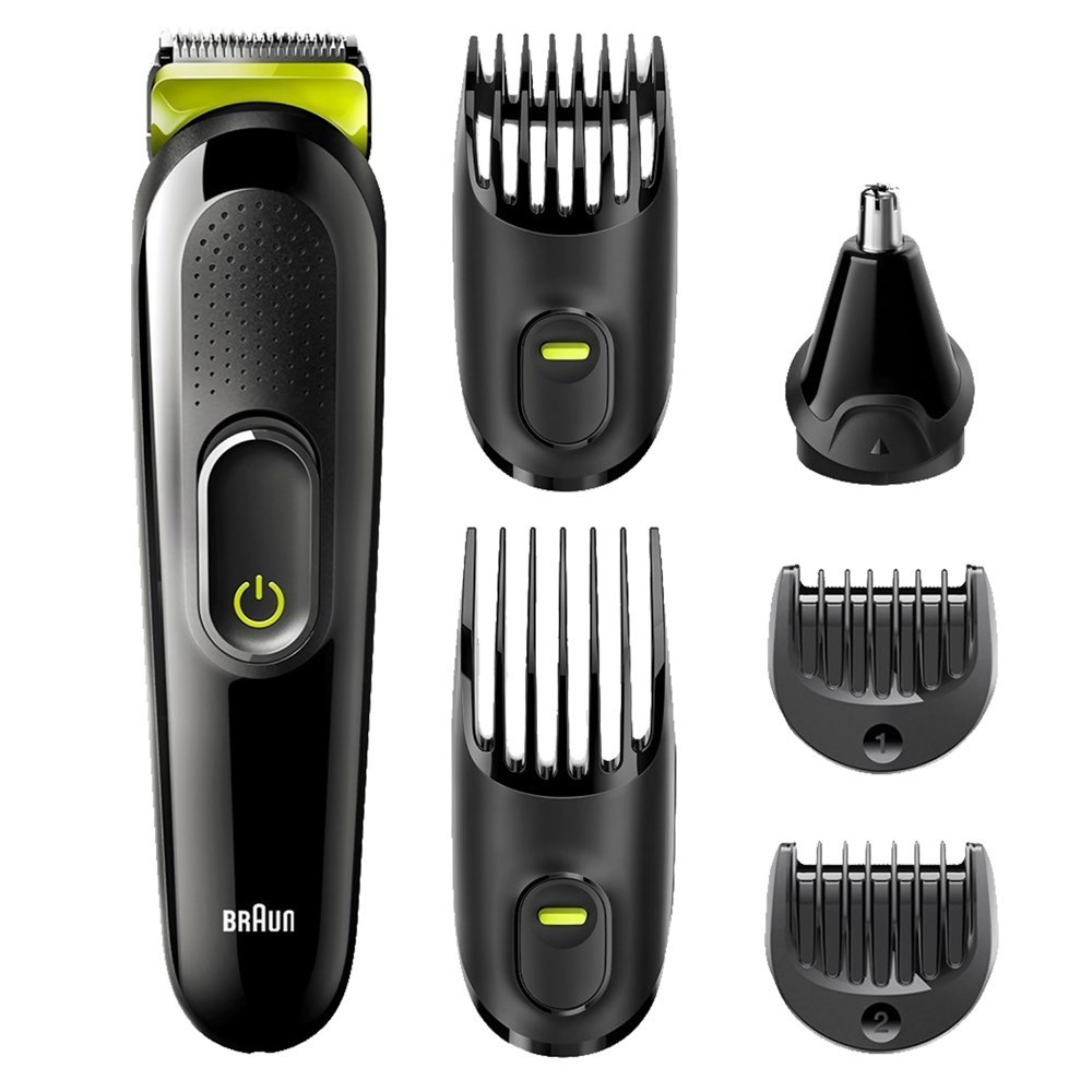 braun clipper trimmer 6 to 1 13 adjustable lengths 05 21mm ni mh battery working time 40min