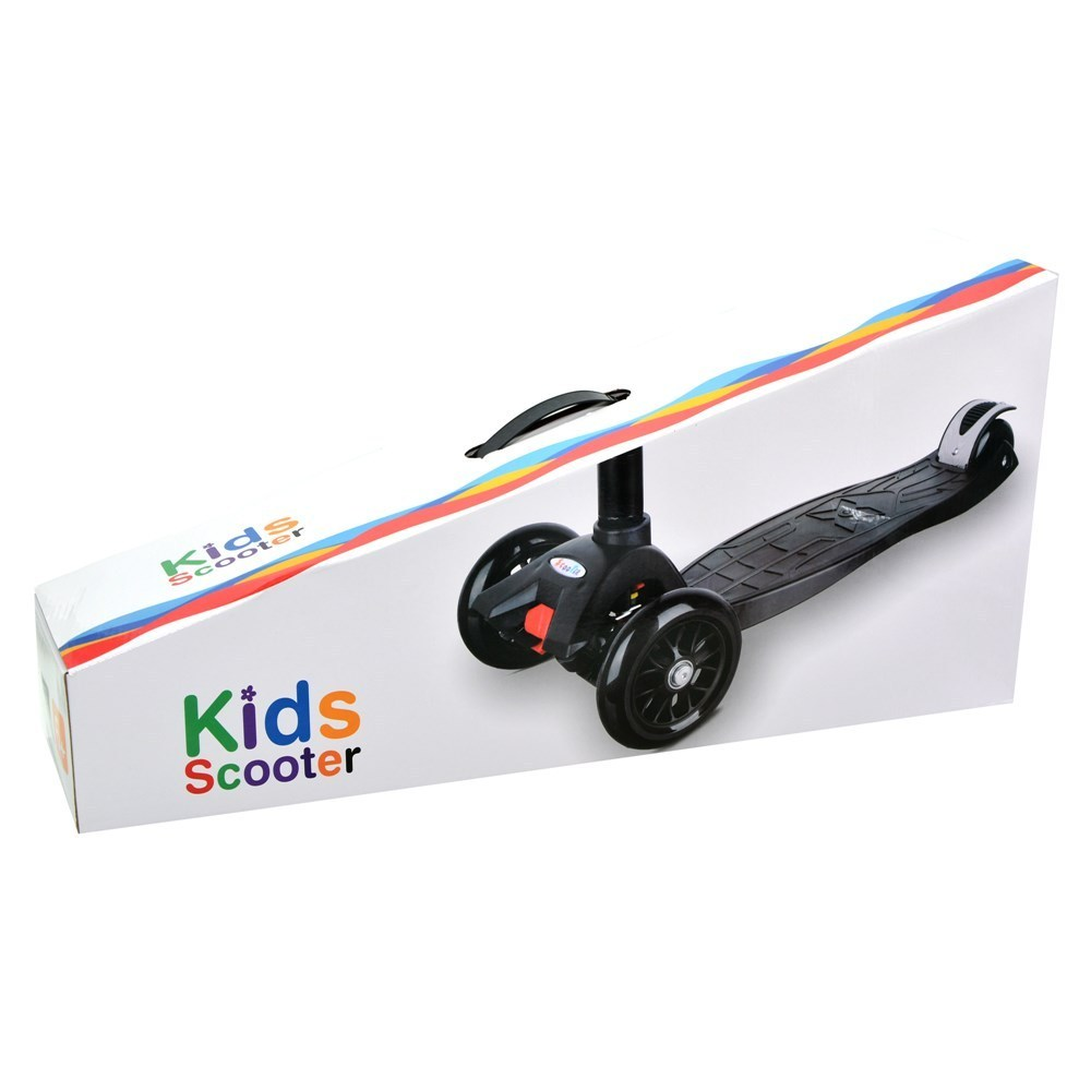 scooter kids maxi s910p wheels with led blu 1