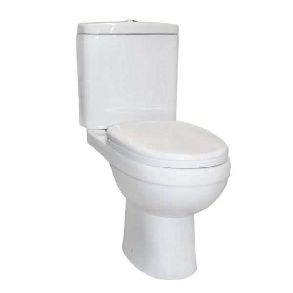 wc wall mounted porcelain white p trap 62x36xh78 cm