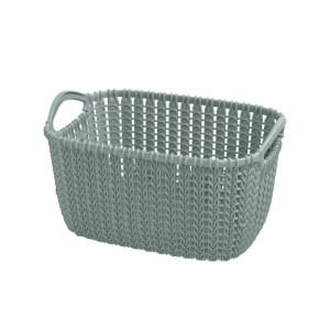storage box curver knit polypropylene misty bluee 175x25xh14 cm 3 lt