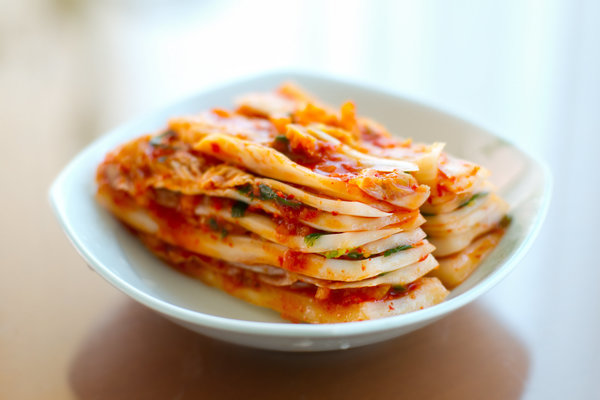 Spicy Korean Kimchi foods-contain-probiotics