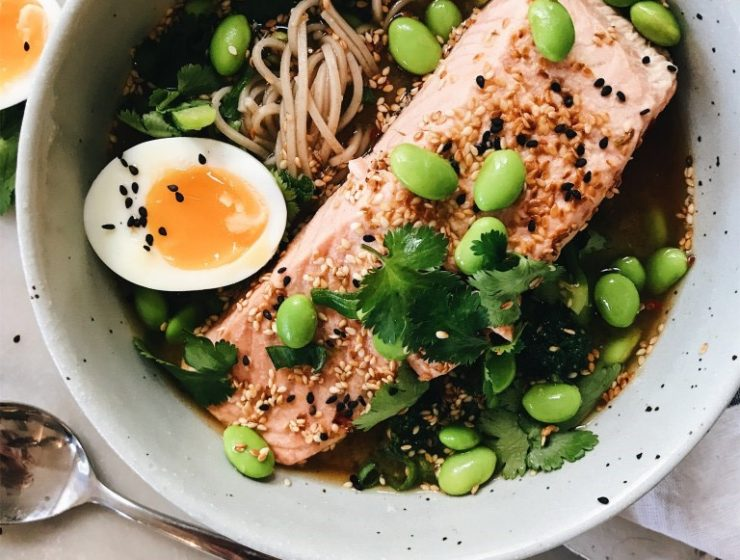 salmon-soba-bowl-miso-ginger-broth