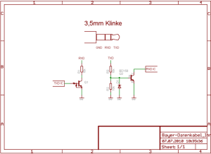Bayer Contour Ts Data Cable pinout diagram @ pinoutguide