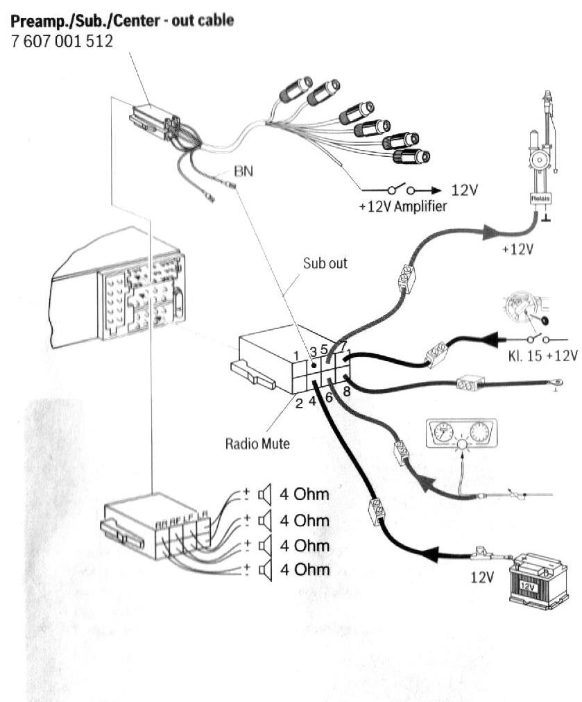 Blaupunkt Casablanca MP56 pinout diagram @ pinoutguide.com