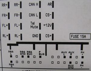 2006 Gm Radio Wiring Diagram Opel 2003 2010 Cd30 Mp3 Head Unit Pinout Diagram