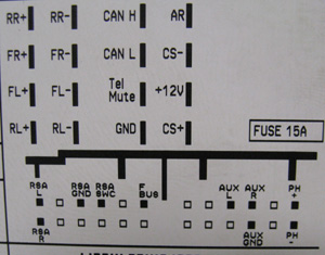 Opel CD30 MP3 Head Unit pinout diagram @ pinoutguide