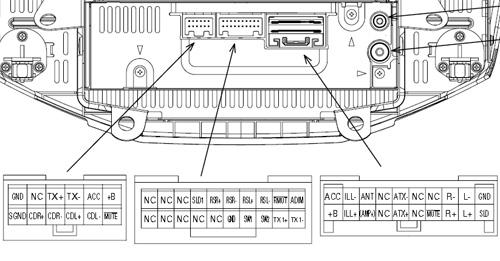 Lexus RX300, RX330, RX350 (2003-2004) P3918 pinout diagram