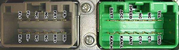 volvo xc90 audio wiring diagram 2001 ford explorer sport trac fuse box hu-415 head unit pinout @ pinoutguide.com