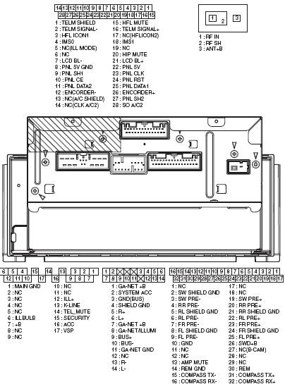 2008 Honda Civic Stereo Wiring Diagram Honda 3pro Pinout Diagram Pinoutguide Com