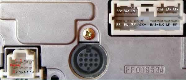 mitsubishi car stereo wiring diagram 5 watt led driver circuit p801 cq-jb6810l head unit pinout @ pinoutguide.com