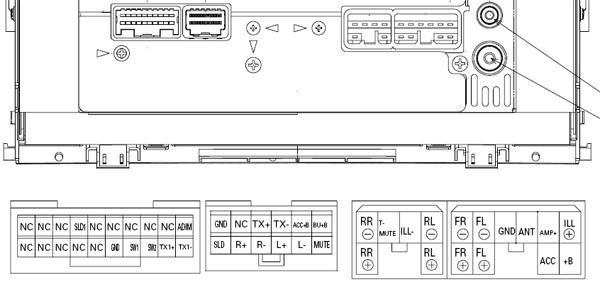 2014 Tundra Head Unit Wiring Diagram Toyota Land Cruiser Prado 2002 2004 P7809 Head Unit