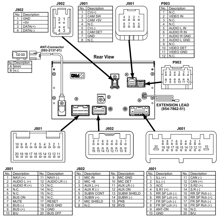 Subaru Clarion Radio Wiring Diagram / Wiring Diagram