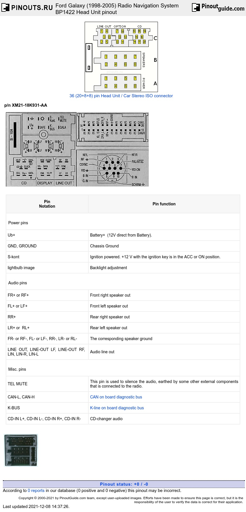 medium resolution of ford radio navigation system bp1422 diagram