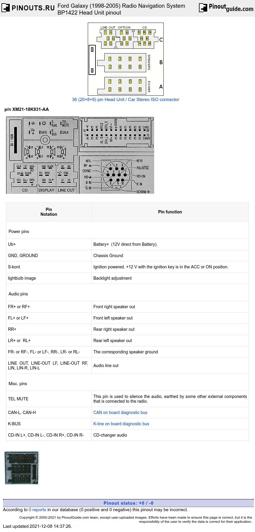 hight resolution of ford radio navigation system bp1422 diagram