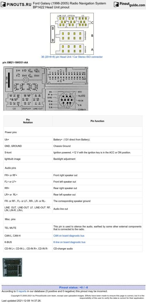 small resolution of ford radio navigation system bp1422 diagram