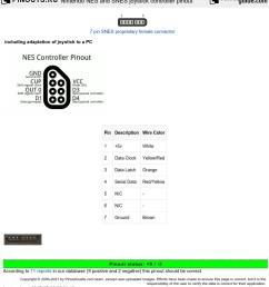 nintendo nes and snes joystick controller diagram [ 1024 x 894 Pixel ]