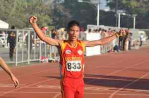 Mervin Guarte celebrates four wins and the MVP title at the NCAA.