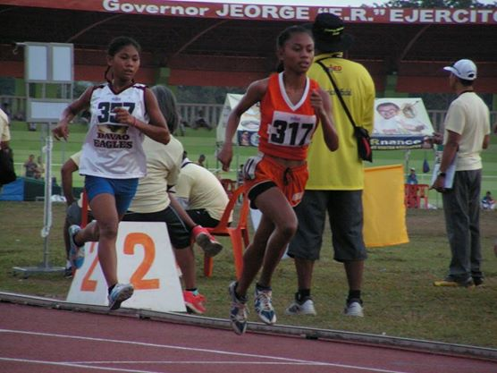 The Pint sized Jieann Calis wins the Palarong Pambansa 2014.
