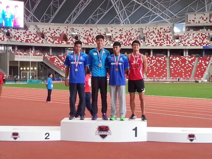 Pooranot, Obiena, Sintacheewa, and Sheng Yao.