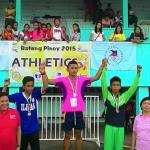 Batang Pinoy 2015 – Mindanao Leg – Athletics – Day 1 Report Dagmil protege Hapitan wins 100 Dash