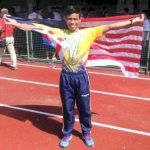 18 year old Badrul Manap 10.29 ASG & Malaysia 100M Record