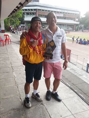 Udtohan with coach Jec Gando