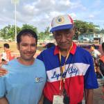 Arsenio Jazmin starts the Bicol Legacy of 400m Runners