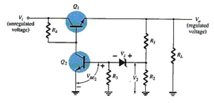 MCQs in Power Supplies (Voltage Regulators)