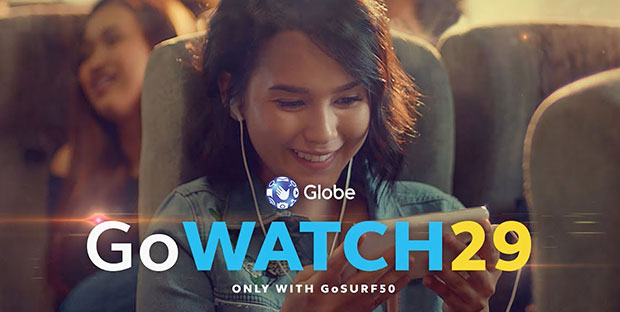 GoWATCH29 Globe Promo - 2GB Of Data For Video Streaming All In Just 29 Pesos