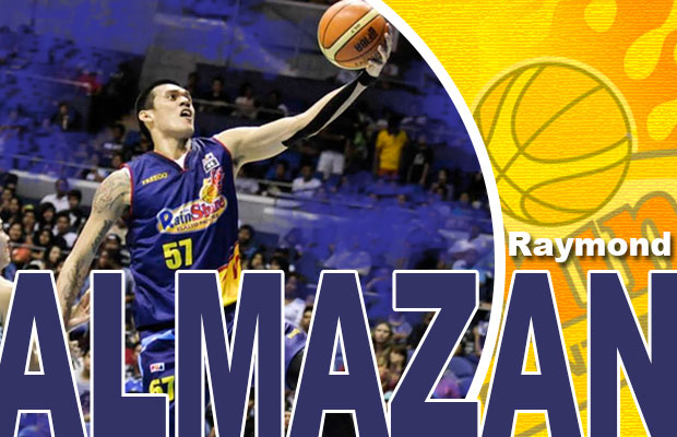 Get To Know Your PBA Player: Raymond Almazan