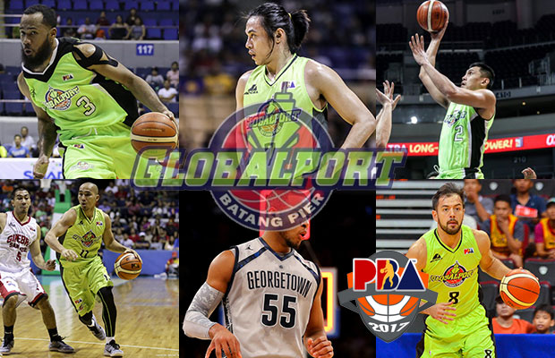 GlobalPort Batang Pier Roster - 2017 PBA Governor's Cup