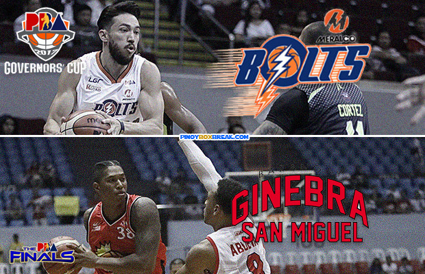 Ginebra vs Meralco - Game 1 | October 13, 2017 | PBA Finals Livestream - 2017 PBA Governors' Cup