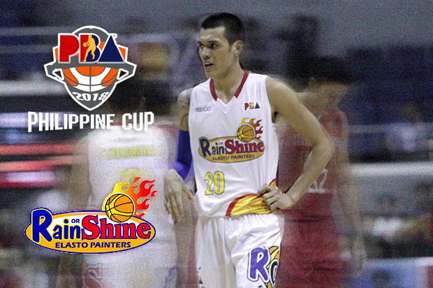Rain or Shine Elasto Painters Roster - 2017-18 PBA Philippine Cup